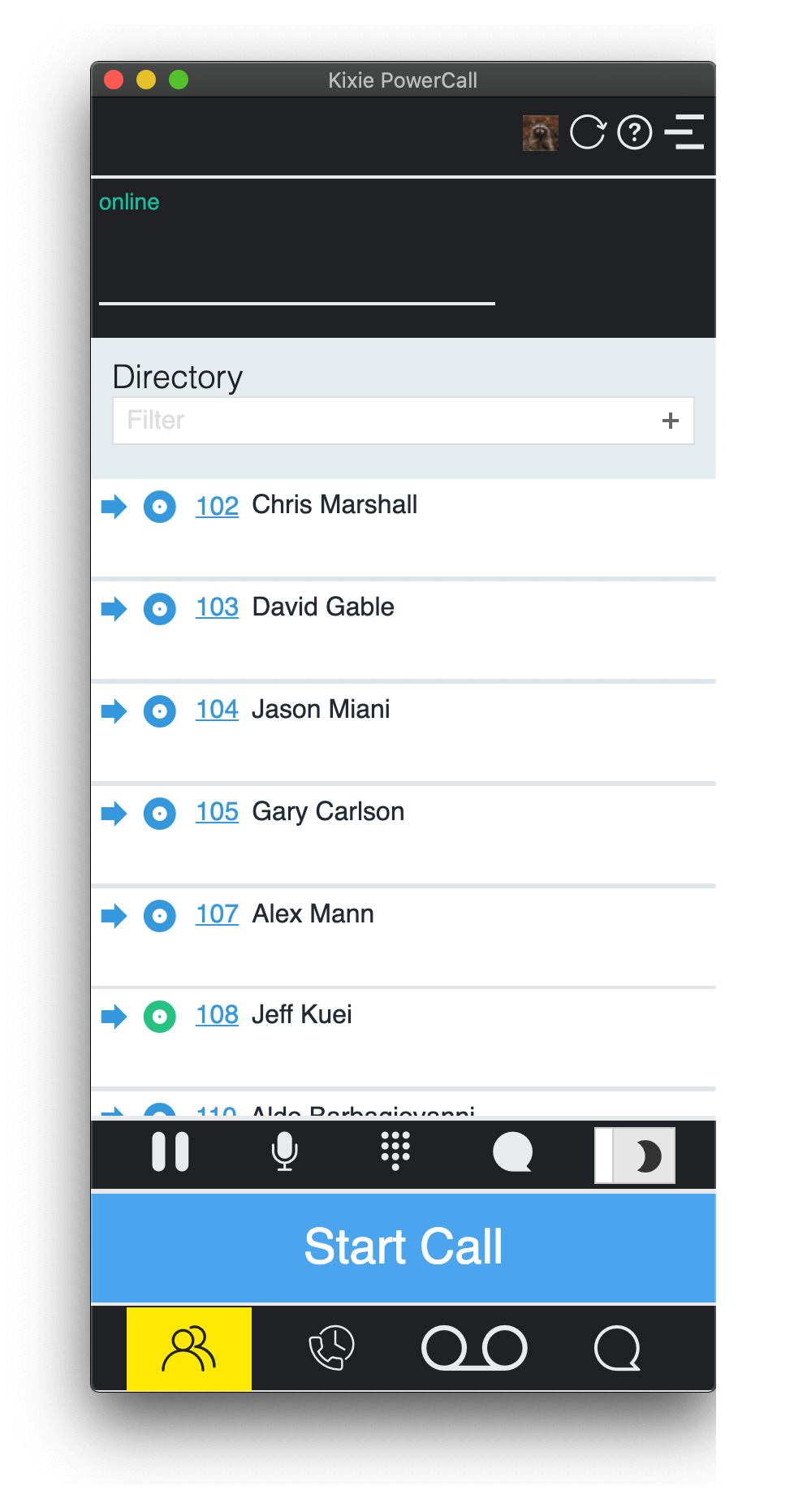 Directory & Direct Transferring a Call video